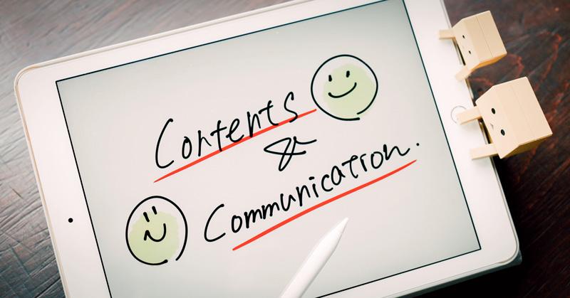 「コンテンツ」と「コミュニケーション」の関係がいまいちピンとこないあなたへ